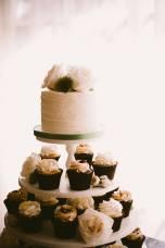 Cupcake Wedding Display