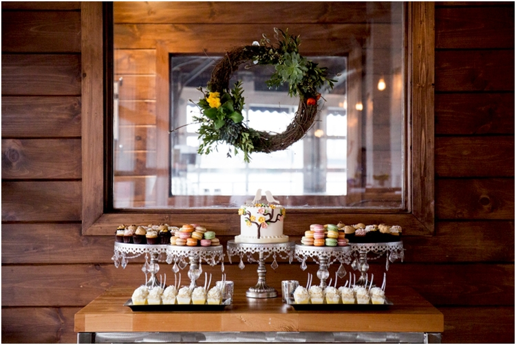 dessert display Gourmet Desserts, Flavor Cupcakery