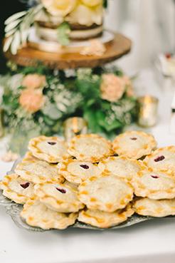 Elizabeth Fogarty Photography - wedding display pies