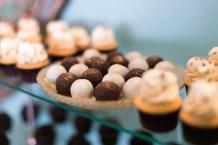 gourmet dessert display