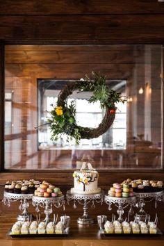 Rustic Spring Vintage Dessert Display!