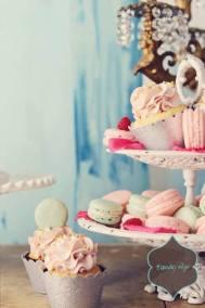 marie antionette dessert display 2