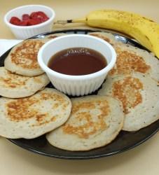 rice flour banana pancakes