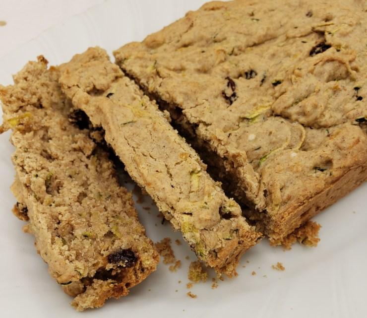vegan gluten free zucchini bread