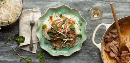 Lemongrass Pork with Vermicelli Noodles