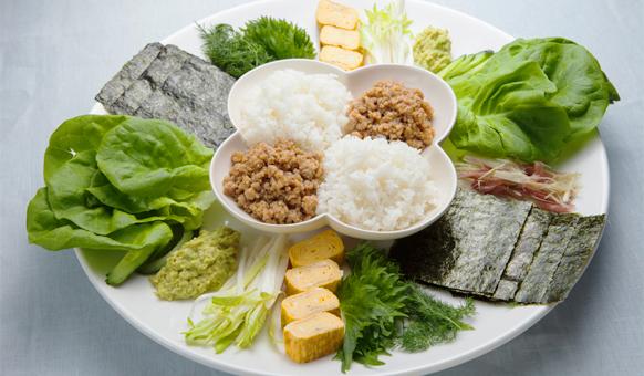 Fish-Free SushiImage: NHK World