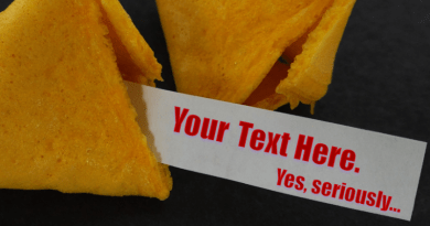 Write A Fortune Cookie Fortune for This Museum of Food and Drink Exhibit