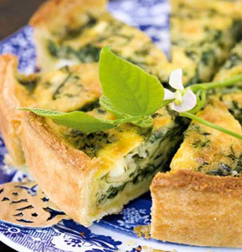 Recipe for Spinach and Feta Quiche