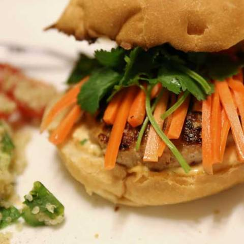 Recipe for Banh Mi with Lemongrass Pork