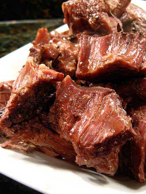 Recipe for Wine Braised Chuck Roast