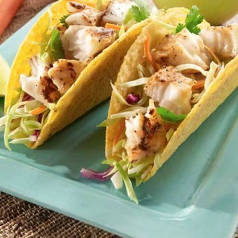 Recipe for Lemon Pepper Fish Tacos