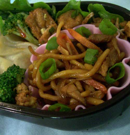 Authentic Pork Lo Mein