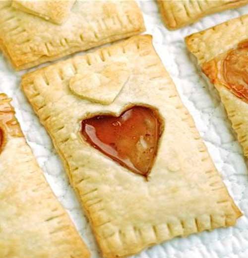 Homemade Valentines Popt-Hearts