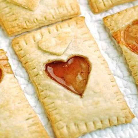 Recipe for Homemade Valentines Popt-Hearts