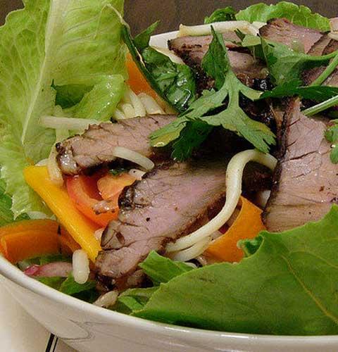 Thai Beef Salad with Fish Sauce