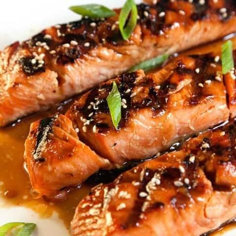 Recipe for Salmon Teriyaki