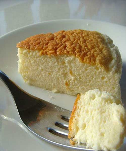 Recipe for Japanese Cheesecake
