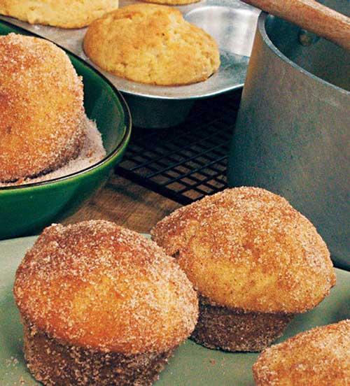 Baked Doughnut Muffins