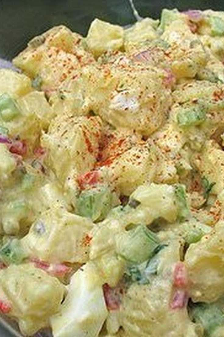 Remember the best Potato Salad you ever tasted? It was probably this Good Old Fashion Potato Salad! It's a winner every time.. You'll hear OMG This IS best Potato Salad I ever tasted in my whole entire life!! #bbq #sidedish #potatosalad #potato