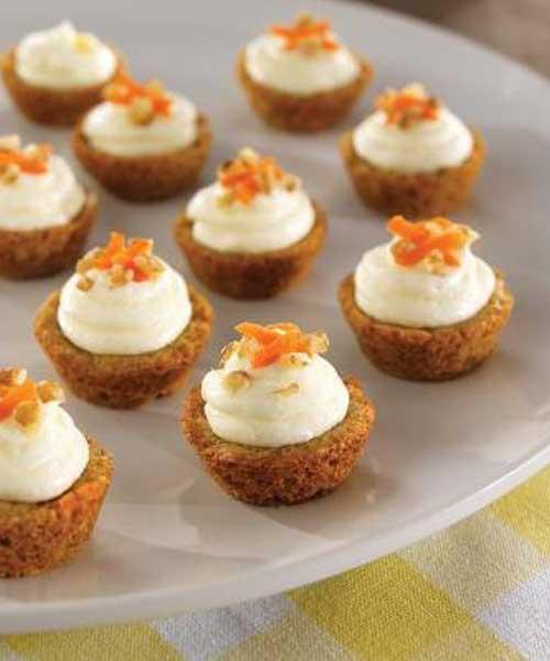 Mini Carrot Cake Cups