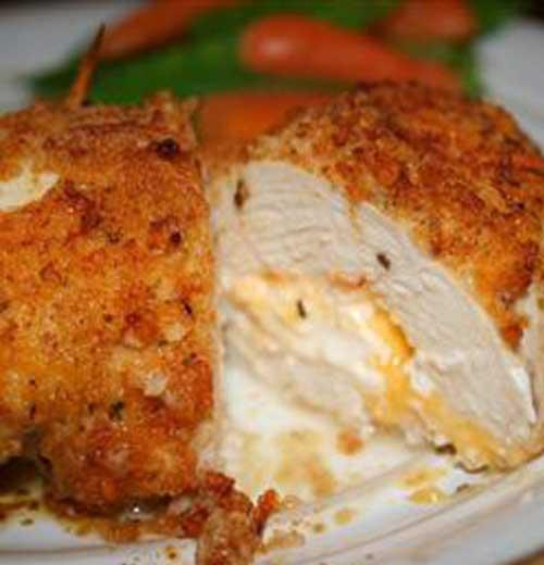 Garlic Lemon Double Stuffed Chicken