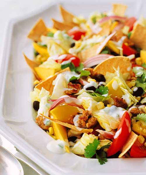 Recipe for Healthy Taco Salad