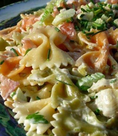 Tuxedo Bow Tie Pasta Salad
