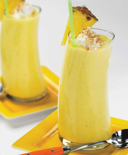 Pineapple Strawberry Banana Smoothie