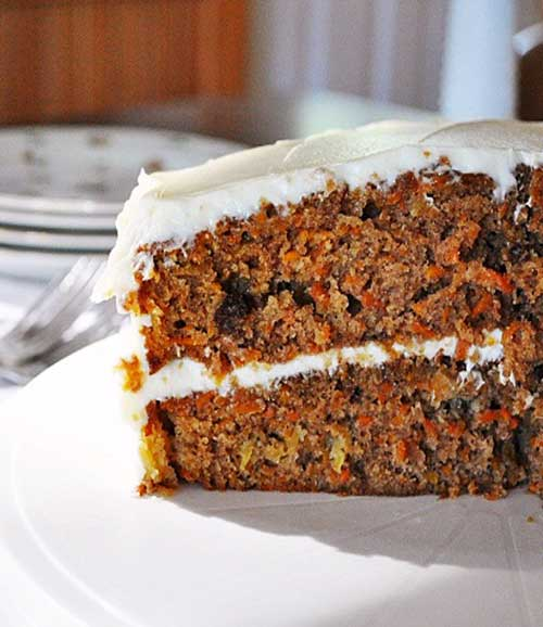 This is truly our Best Ever Carrot Cake recipe, make this classic favorite for a crowd and you might not have any leftovers to bring home. #carrotcake #cake #dessert #springbaking