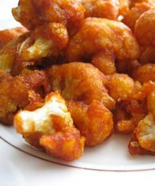 Recipe for Chili Cauliflower Stir-Fry - No need to have boring ole cauliflower when you have this recipe. WARNING: There is some serious heat to be had here!