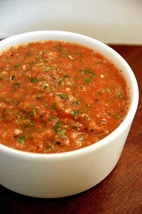 Copycat Chilis Salsa
