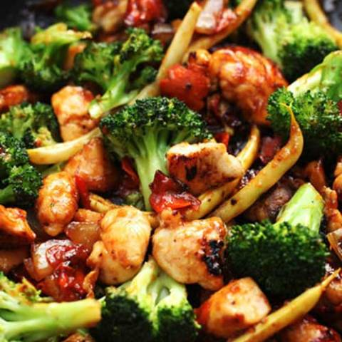 If you've always wanted to make your own Chinese restaurant food at home, this Orange Chicken and Vegetable Stir Fry recipe is a great one to add to your collection. Enjoy!
