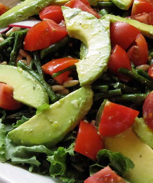 Spring Salad with Meyer Lemon Vinaigrette