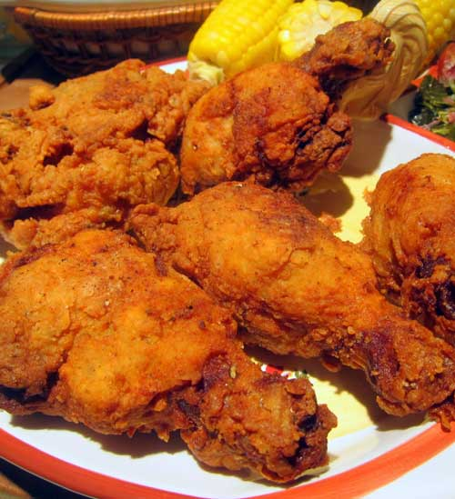 Recipe for Southern Fried Chicken - Sometimes you just need say what the heck and indulge in some sinfully rich food. It is even better when you indulge with a little company.