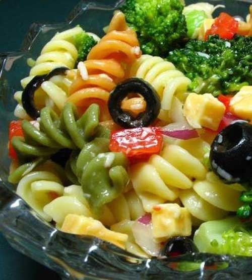 Pretty Party Pasta Salad