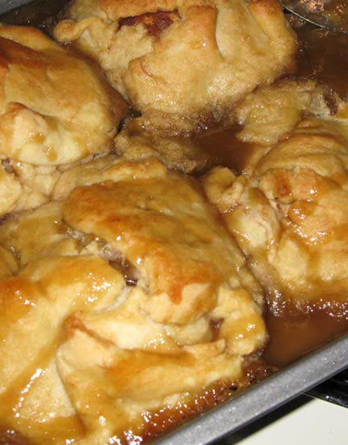 Dessert doesn't have to be fancy to be good, these Trisha Yearwood Apple Dumplings are always tasty and super easy!!