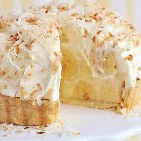 Just like Grandma's Banana Coconut Cream Pie, take this to your next family reunion and you'll be the star!
