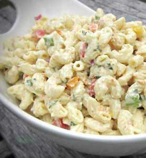 ThisParty Macaroni Salad recipe makes a great side dish for any summer barbecue or picnic. Make it in advance and refrigerate it for at least two hours.