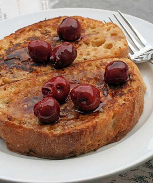 Double Vanilla French Toast