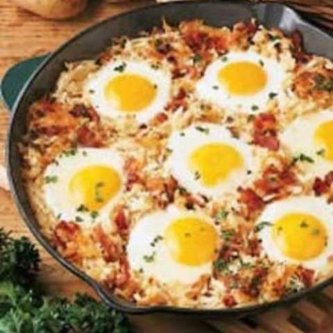 My sister-in-law always made this delicious breakfast dish when we were camping, it's a sure hit with the breakfast crowd!