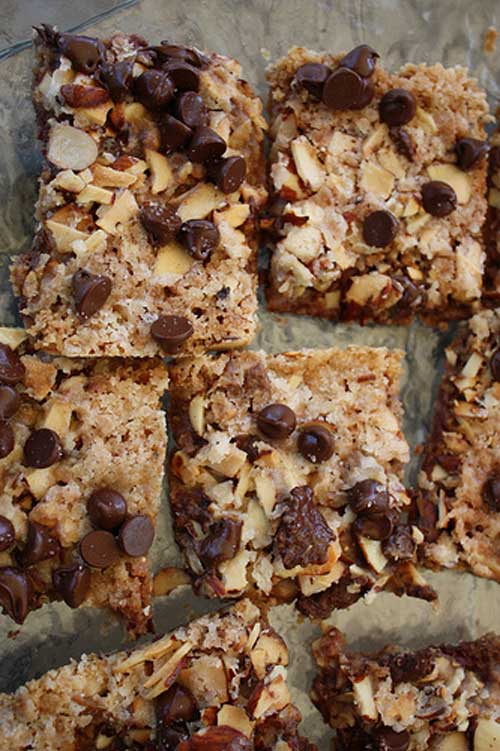 Salted Toffee Chocolate Squares