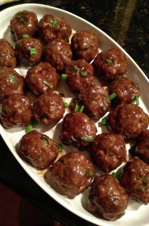 These tasty Asian Style Meatballs have a great punch of Asian flavors. Set a plate out of these easy-to-make meatballs and they'll disappear before you know it!
