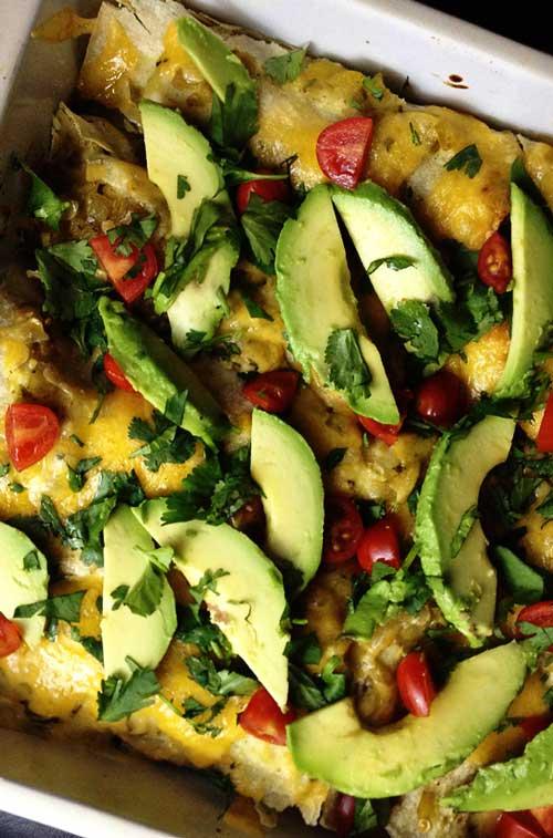 Chorizo Breakfast Enchilada Casserole