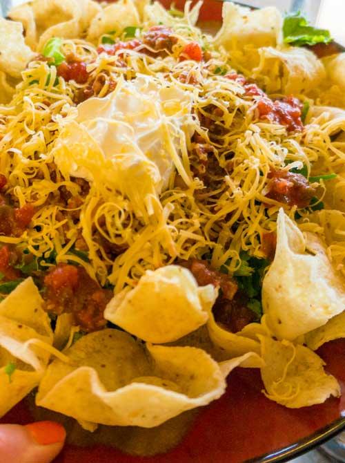Deli Style Taco Salad