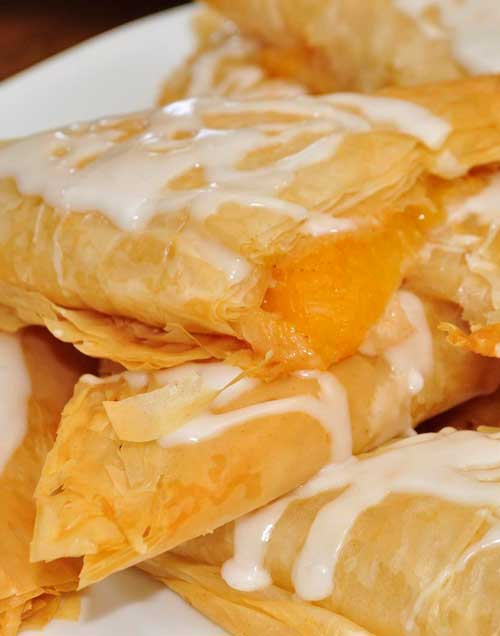 Once you make thesePeach Turnovers and see just how easy they are to put together, they will become your go-to breakfast-to-impress. They can also double as dessert.