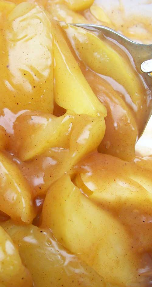 Recipe for Copycat Cracker Barrel Fried Apples - These are close as I have seen to what you can get at Cracker Barrel. Just like what I grew up eating.