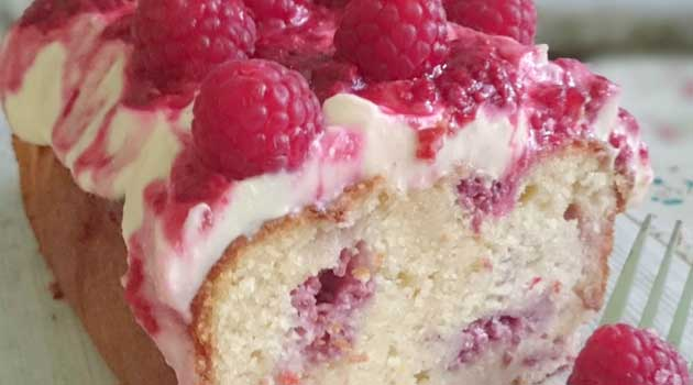 Recipe for Raspberry & Cream Cheese Bread - Raspberry & Cream Cheese Bread - This bread is so yummy...full of delicious raspberries and topped with a scrumptious Cream Cheese Frosting and Raspberry drizzle.