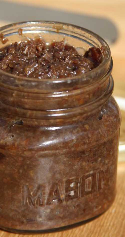 Recipe for Bacon Jam - Spread this savory bacon jam on bread for a holiday appetizer and send your guests home with a jar.
