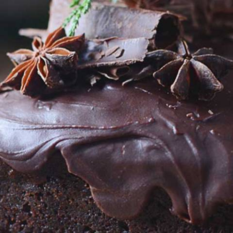 Recipe for Triple Chocolate Gingerbread - Amazing triple chocolate gingerbread with chocolate chunks and spicy ginger chocolate icing.