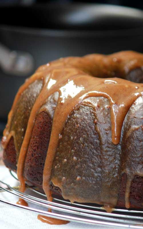 Double Caramel Pound Cake